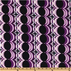 Purple/Black Fabric