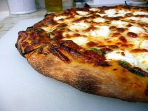 Spinach-Ricotta Pizza