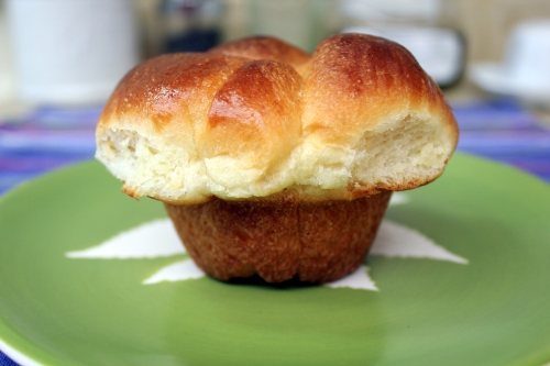 Bubble-Top Brioches | From Scratch