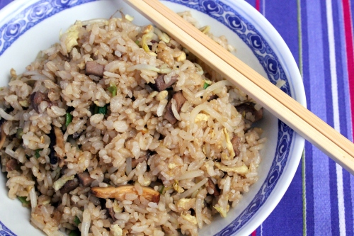 Pork Fried Rice (Remembering House of Rice)