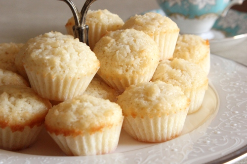 Coconut Friands