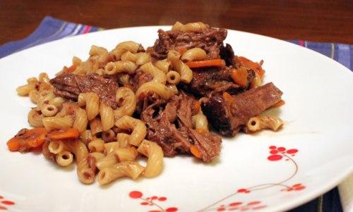 Beef Cheek Daube with Elbow Macaroni