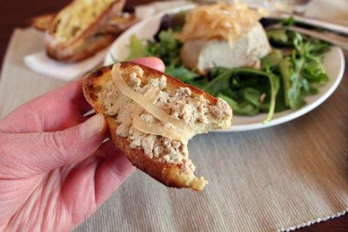 Gateau Spread on Toast