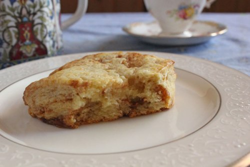Cinnamon Honey Scone