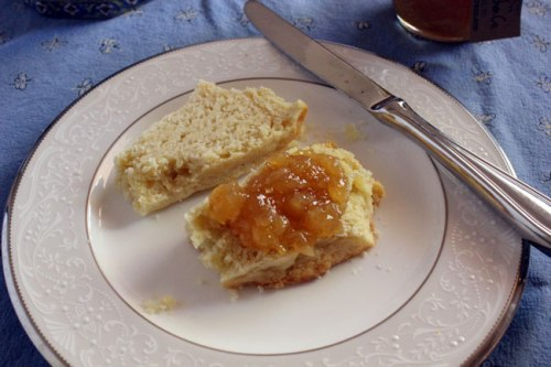 Plain Scone with Meyer Lemon & Lavender Marmalade