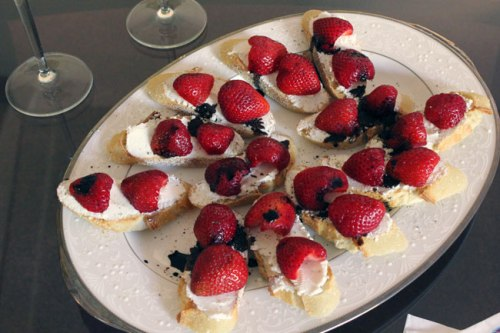 Platter of Tartines