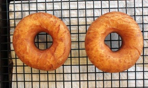 Fresh, hot donuts