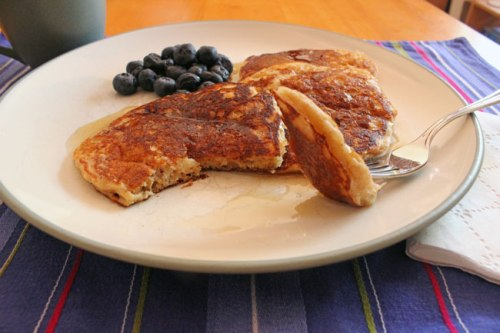 Whole-Wheat Walnut Pancakes