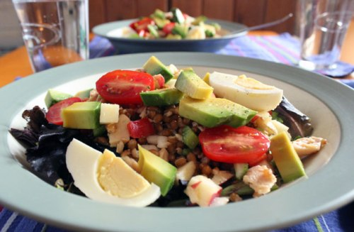 Wheat Berry and Tuna Salad
