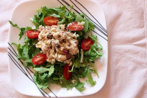 Leftover Swordfish Salad