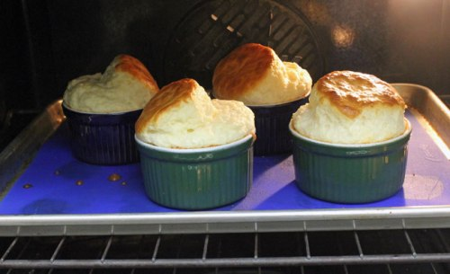 Soufflés in the Oven