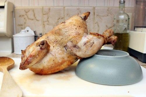 Upside-down Chicken