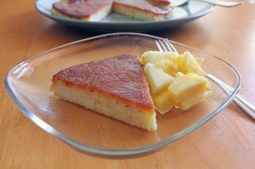 Caramel-Topped Semolina Cake