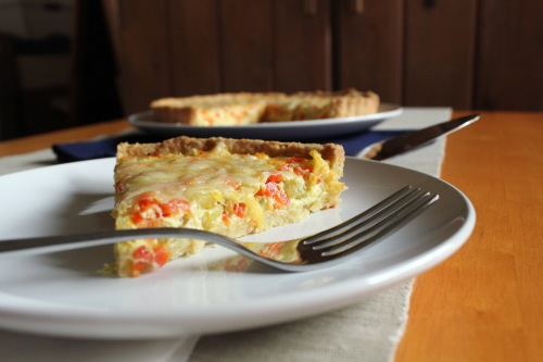 Slice of Quiche Maraîchère