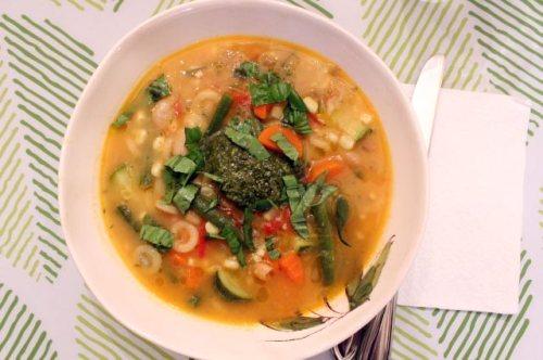Provençal Vegetable Soup