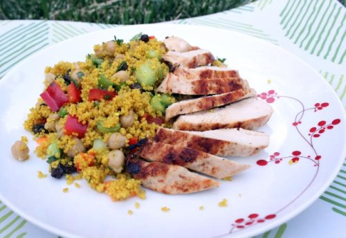 Couscous Salad with Chicken