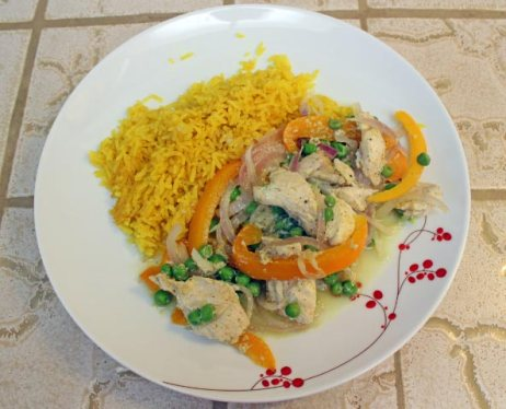 Curried Chicken and Rice