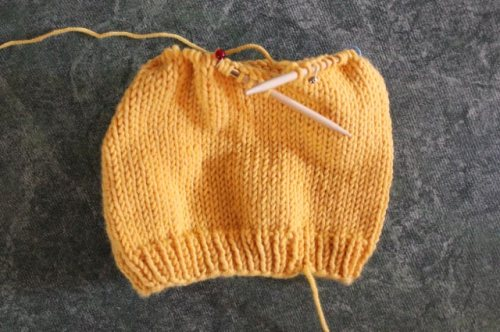 Yellow Hat - the correct size