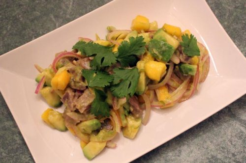 Tuna and Mango Ceviche