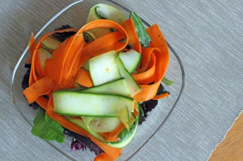 Vanilla Vegetable Salad