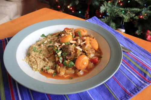 Lamb and Dried Apricot Tagine