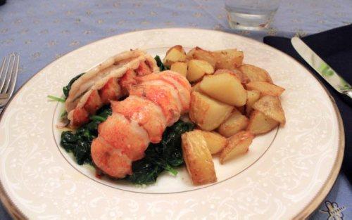 Vanilla-Butter-Braised Lobster