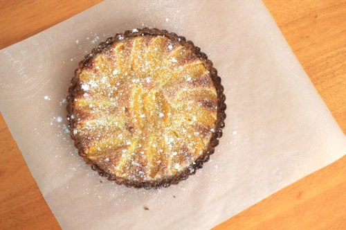 Orange-Almond Tart