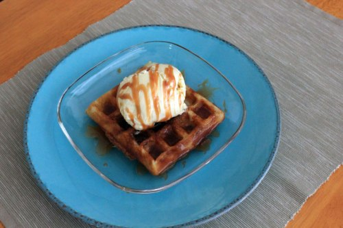 Waffles and Cream