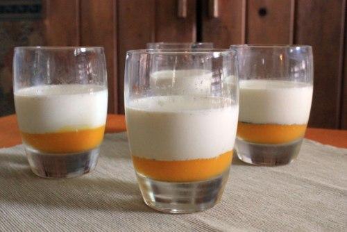 Vanilla Mango Panna Cotta