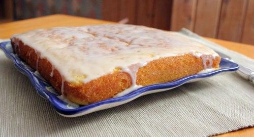 Carrot-Tangerine Cake